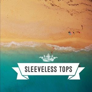 Sleeveless tops section